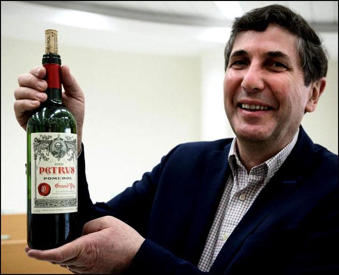Les manquants le vin petrus