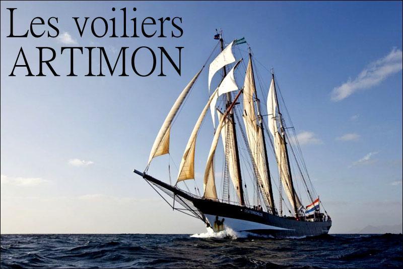 Les voiliers artimon titre