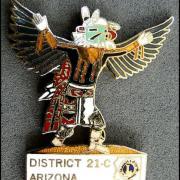 Lions club md 21 arizona 16