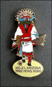 Lions club md 21 arizona ovale 1
