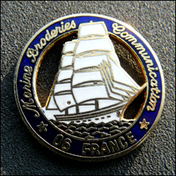 Marine broderies communication