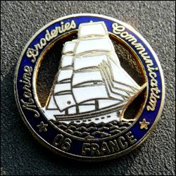 Marine broderies communication