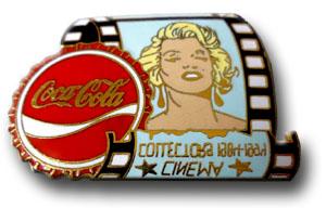 Marylin coca cola bleue
