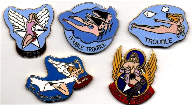 Mascottes bombardiers 3