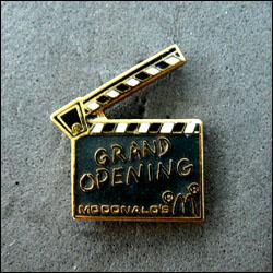 Mc donald s grand opening