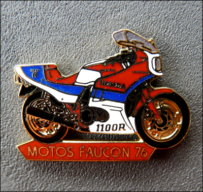 Motos faucon 76 400