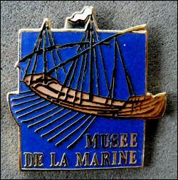 Musee de la marine bleu