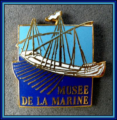 Musee de la marine ciel et bleu