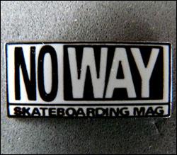 No way skateboarding mag