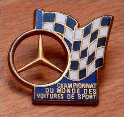 Pin s championnat du monde des voitures de sport ab 3