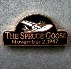 Pin s the spruce goose 250