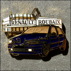 Renault roubaix bleue 250
