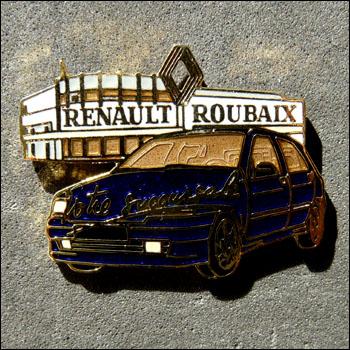 Renault roubaix bleue 350