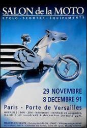 Salon de la moto 1991