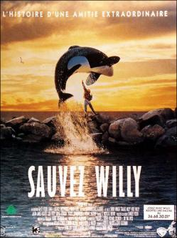 Sauvez willy affiche