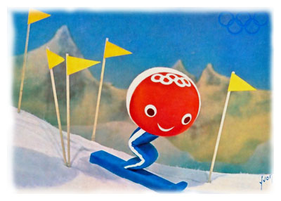 Schuss le skieur