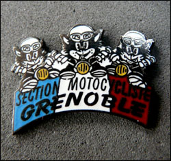 Section motocycliste grenoble