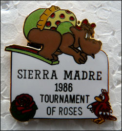 Sierra madre 86 tournament od roses