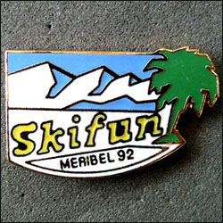 Skifun meribel 92