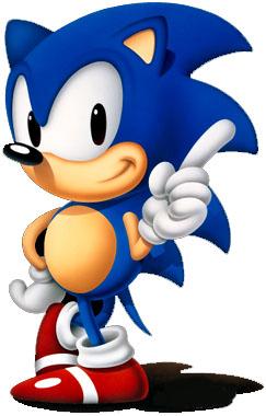 Sonic sega accueil 1