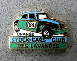 Stock cars club orange