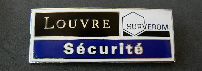 Surverom louvre securite