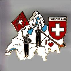 Switzerland carte