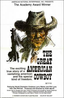 The great american cowboy affiche