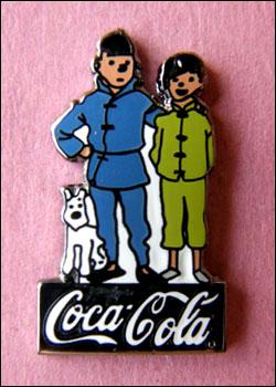 Tintin coca cola 5