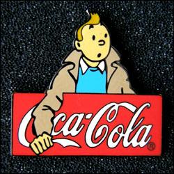 Tintin coca cola rouge
