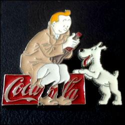 Tintin milou coca cola 1