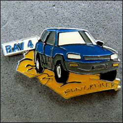 Toyota rav 4 funcruiser bleu