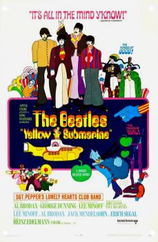 Yellow submarine affiche gb