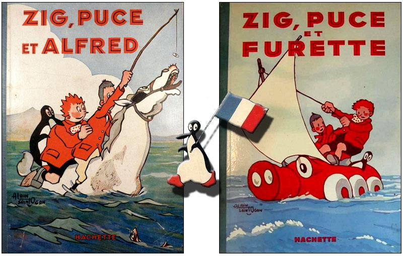 Zig puce alfred
