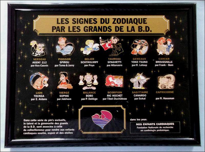 Zodiaque bd 1
